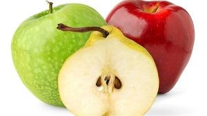 Compote de pommes et de poires