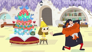 Le gâteau-volcano
