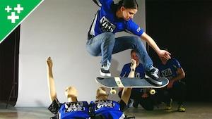 VPVX - Le saut en planche à roulettes