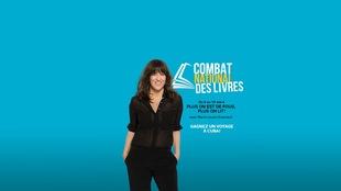 Publicité Concours ICI Première combat des livres avec marie louise arsenault