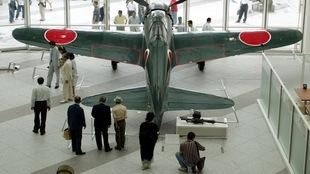 Un avion de chasse japonais