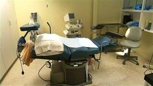 Une salle dans une clinique d'avortement