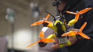 Photo d'un drone avec une caméra