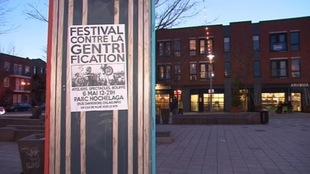 Des individus ont été interpellés dans la nuit du 12 au 13 avril alors qu'ils posaient illégalement des affiches appelant à un « Festival contre la gentrification » le 6 mai.