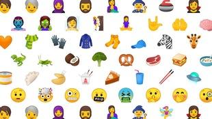 Les nouveaux emojis qui ont été dévoilés aujourd'hui par Unicode