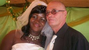 Étienne Troesler et sa conjointe, Fatim