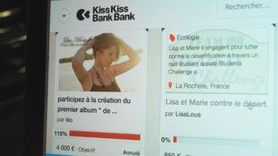 Le site de KissKissBankBank