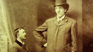 Le géant Édouard Beaupré.