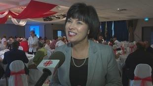 Ginette Petitpas Taylor, ministre fédérale de la Santé et député de Moncton-Riverview-Dieppe.