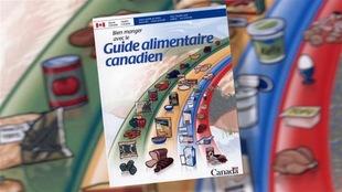 Page couverture du guide alimentaire canadien