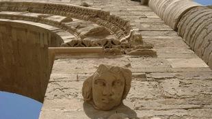 La cité antique de Hatra, en Irak, a été occupée pendant deux ans par les combattants du groupe armé État islamique.