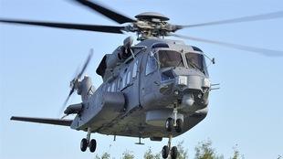 L'un des Cyclones livrés à l'armée de l'air canadienne