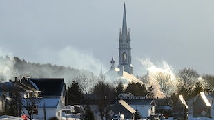 L'Isle-Verte, le 24 janvier 2014.