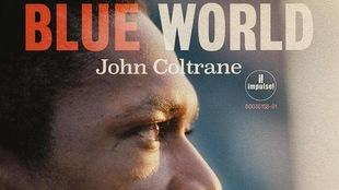 Pochette de l'album, où l'on voit John Coltrane de profil