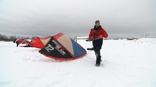 Les amateurs de kite sur neige ont célébré le 6e Festikite à Sept-Îles.