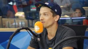 L'ultra-marathonien Mathieu Blanchard.