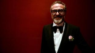 Le chef du restaurant italien Osteria Francescana, Massimo Bottura