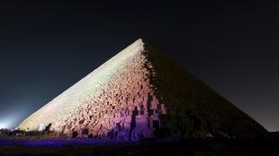La pyramide de Khéops