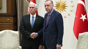 Syrie: Mike Pence annonce un «cessez-le-feu» de 5jours
