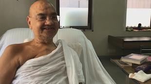 Yashovijay Suri, un des leaders de la communauté des JaÏns en Inde.