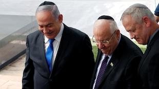 Israël : le président rencontre Nétanyahou et Gantz pour sortir de l'impasse