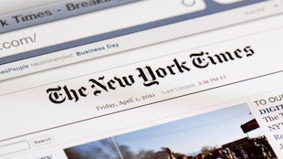Le site Internet du <i>New York Times</i>