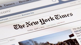 Le site Internet du <i>New York Times</i>