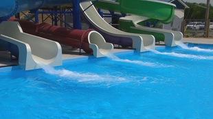 Glissades parc aquatique Transcona.