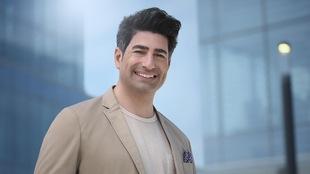 Portrait de Patrick Masbourian qui sourit