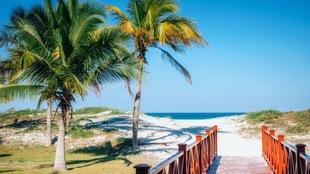 Une plage à Varadero, Cuba.