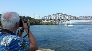 Les citoyens étaient au rendez-vous samedi matin pour célébrer le centenaire du pont de Québec.