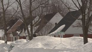 Quartier résidentiel de Trois-Rivières sont les maisons ont été construites avant 1984.