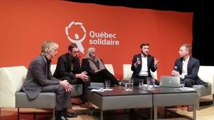 Débat de Québec Solidaire à Québec