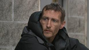 Stephen Jones, un sans-abri qui a aidé les victimes de l'attentat de Manchester.