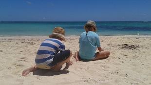 La famille de Sarah-Lou Jonhson a choisi la République dominicaine pour les vacances de l'été 2017.