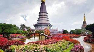 Le parc national de Doi Inthanon, à Chiang Mai, en Thaïlande