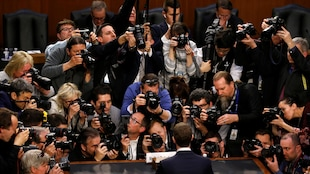 Le PDG de Facebook Mark Zuckerberg a comparu devant le sénat concernant le scandale Cambridge Analytica.