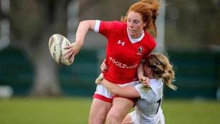 Alexandra Tessier, joueuse de l'équipe canadienne de rugby à 15