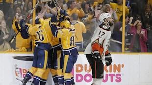 Les Predators de Nashville ont éliminé les Ducks d'Anaheim en six matchs