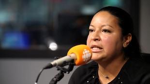 Claudia Delgado, en studio