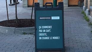 Depuis environ un an, Sherbrooke est l'hôte des Creative Mornings, des rendez-vous mensuels où on jase créativité et inspiration.