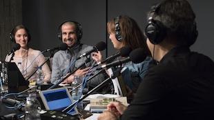 Madeleine Goubau, Benoît Huot, Sophie-Andrée Blondin et Denis Fortier