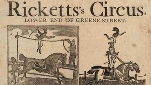 Affiche du cirque.