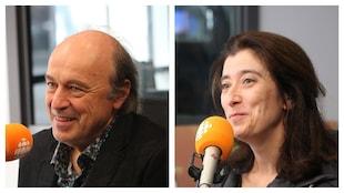 Michel Nadeau et Véronika Makdissi-Warren, en studio