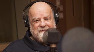 Serge Bouchard au studio 18 de Radio-Canada, à Montréal, le 8 janvier 2018