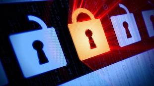 Des icônes de cadenas sur l'écran d'un ordinateur
