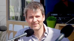 Simon Paquin, fondateur du projet ÉcoMaris qui organise des expéditions sur un voilier-école