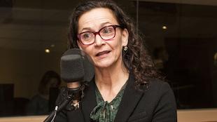 L'auteure et comédienne Sylvie Drapeau