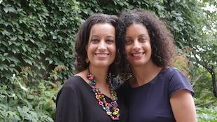 Les soeurs Pascale et Dominique Anglade.