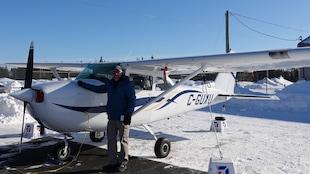 Jacques Lévesques, pilote depuis 50 ans